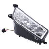 Chrome Silver DRLLED headlight for ATV 1000 900