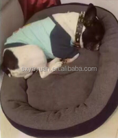 metal frame Pet dog bed supply and manufacturer wholesale iron pet bed with cover and roof