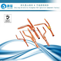 Branch Pipe Branching Joint Y Branch Kits for VRF VRV Thickened Copper Pipe