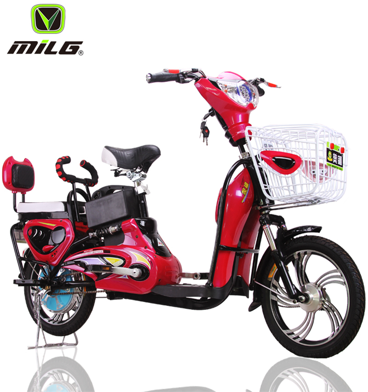 2017 lady 2 seat easy ride pedal mopeds with hidden battery for sale (ML-JML)