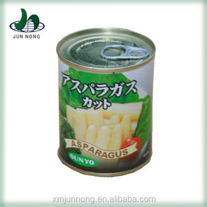 High quality wholesale canned white asparagus