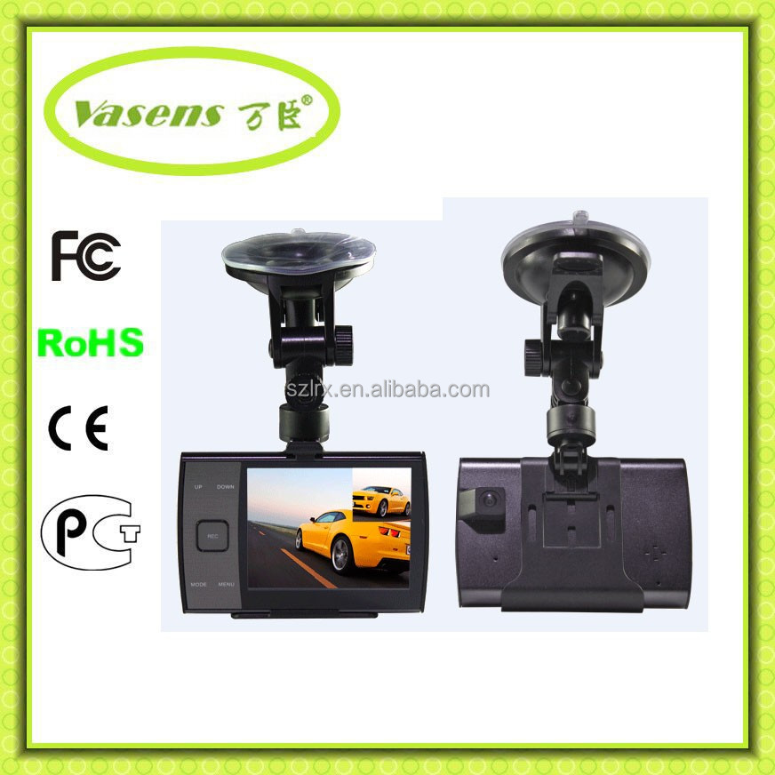 dual lens vehicle car camera dvr video recorder double camera mobile phone cctv doorbell camera