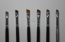[EUNCHANG]Hot selling use friendly professional angeled and eyeshadow oem synthetic makeup brushes