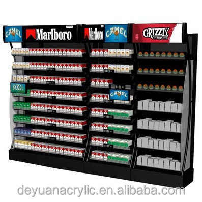 acrylic shelf for cigarette