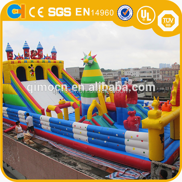 Customized giant inflatable fun city,Big inflatable playground,Inflatable amusement park