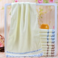 2015 Walmart best selling Classical Design Terry Pure 100 Cotton Fabric Hand Towels