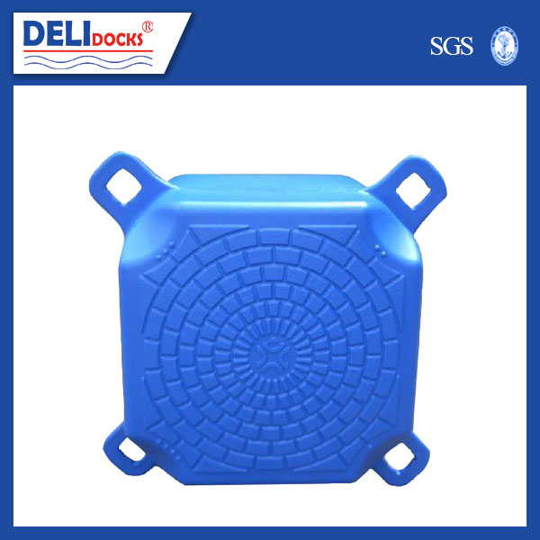high quality plastic hdpe floating dock pontoon cubes