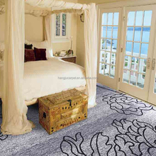 Luxury 80/20 Axminster Carpet for Hotel Bedroom D27-18