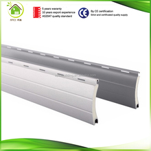 Hurricane protection aluminium roller shutter slat for roller shutters