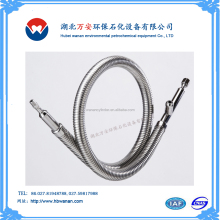 Price concessions 10% China 1 / 2 inch flexible high pressure resistant stainless steel wire braided metal corrugated hose
