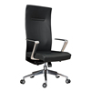 New design black wholesale leather high back manager chair, office chairs