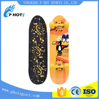 wholesale 9 ply Chinese Maple Wood Longboard best maple skateboard deck