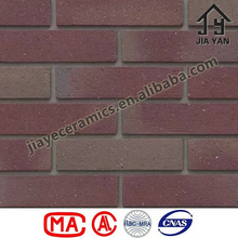 Yixing clay fired exterior wall brick tiles
