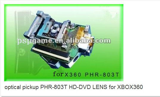 Optical pickup PHR-803T HD-DVD LENS for XBOX360 game console