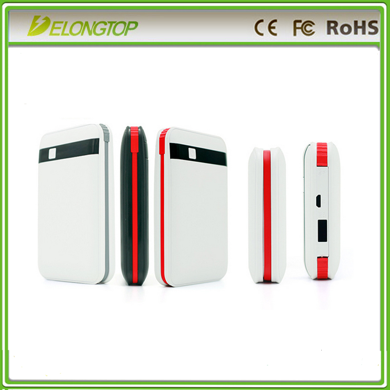 new model factory sale 8000mah mobile usb power bank with micro usb line