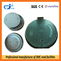 Waterproof SMC Manhole Cover With Locking