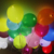 Glow At Night Ballon New Style  Latex Balloon LED Luminous Solid Color balloon Color Mixing Party Decoration Balloon Toy