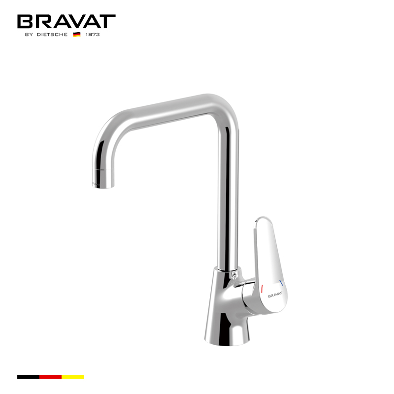 Ceramic Cartridge Lever Handle Pull Out Kitchen Faucet Spray ...