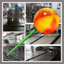 New professional automatic depositing lollipop candy packing machine