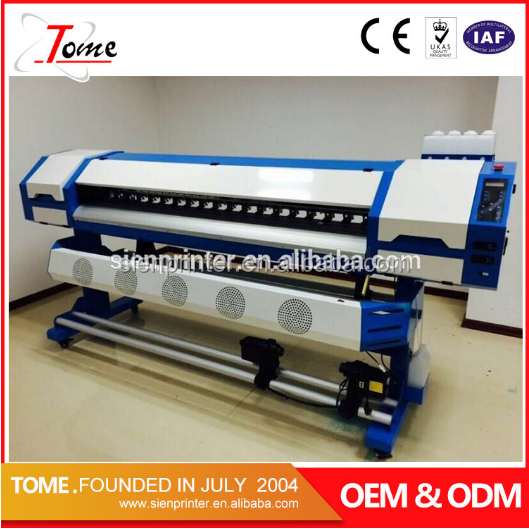 dx5 printhead eco solvent printer/eco solvent plotter /inkjet printing machine in guangzhou