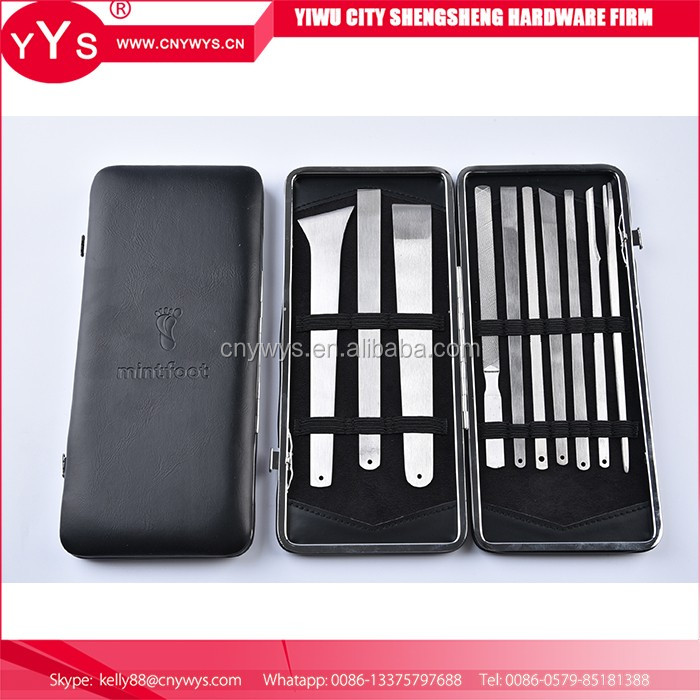 China Wholesale Custom foot pedicure knife grooming kit stainless manicure set