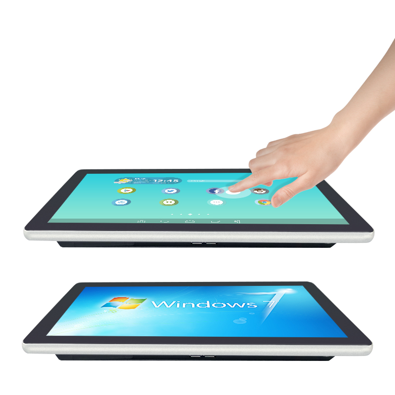 Super slim 15.6 inch capacitive touch industrial panel pc