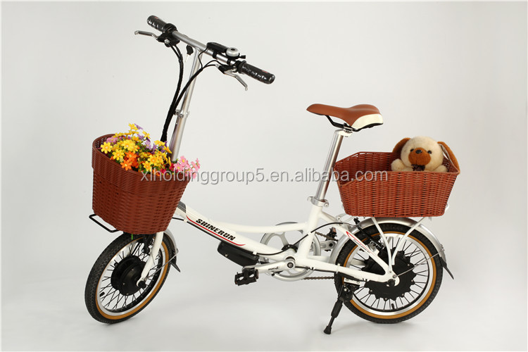Hot sale Cute electric road bike RIYA 36V/8.8Ah Li-ion battery inside the wheel