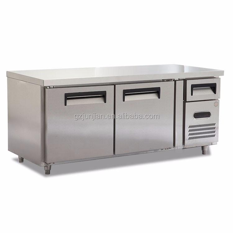 commercial 2 door undercounter refrigerator freezer drawers - Commercial Undercounter Refrigerator