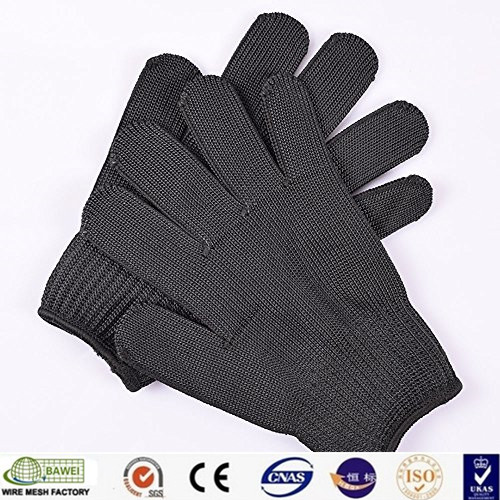 Working protection level 5 anti cut polyester safety gloves products
