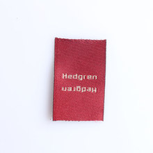 polyester designer brand factory price handmade woven clothing labels