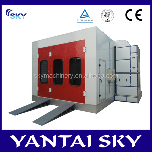 SB500, The Truck Spray Paint Booth water curtain spray paint booth