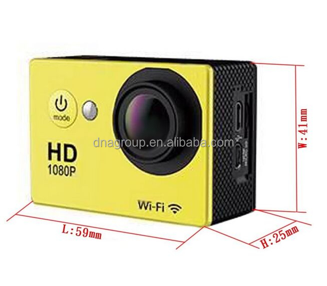30M waterproof sports camera SJ4000 WIFI action camera 1080p with factory special price