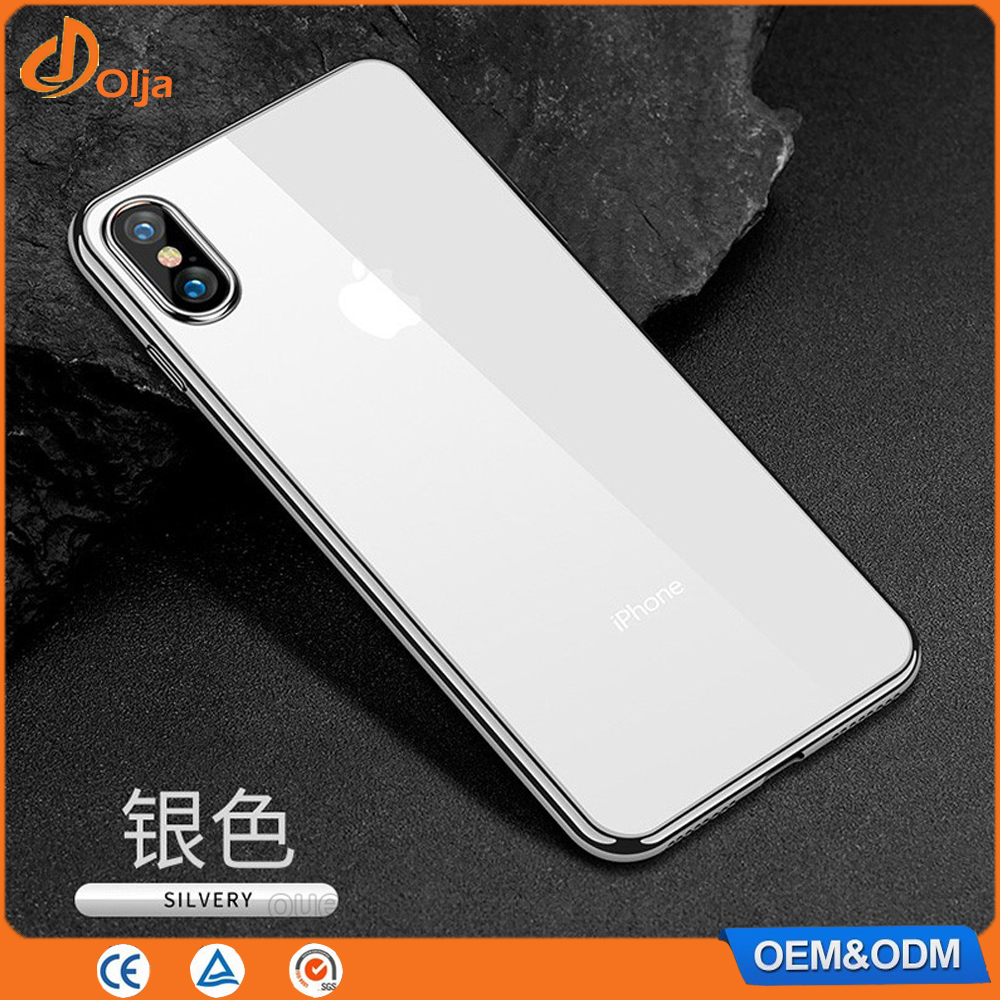 Electric hot plate case for iphone x plastic plate tpu covers for i phone7 mobile phone bumper plate case