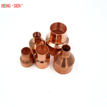 "Copper Reducer 1/4"""" Coupling x 3/8"" Coupling, refrigeration air conditioning"