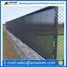 HDPE tennis court privacy fence screen with copper or grommets