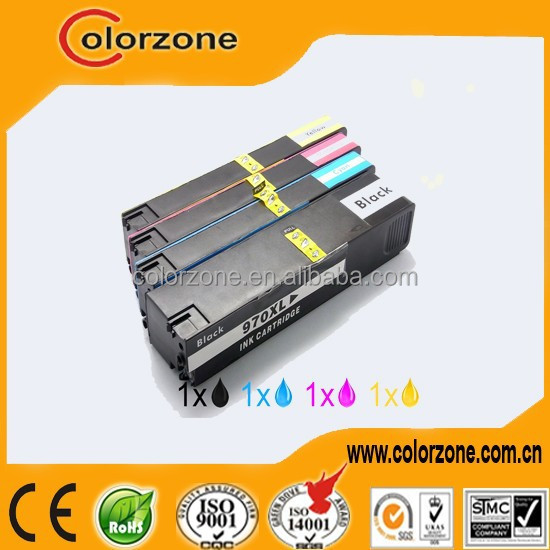 Alibaba China Gold supplier supply compatible ink cartridge for hp 970 971