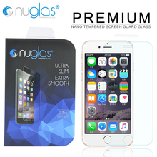 Factory Price for iPhone 7 Tempered Glass Screen Protector Wholesale with Nuglas Packaging