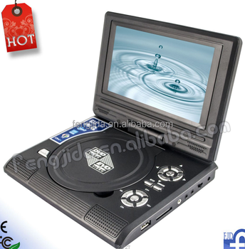 portable DVD player with games radioTV DVD portable