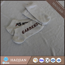 cheap sublimation polyester blank white sock 100% polyester