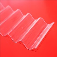 Corrugated polycarbonate plastic board plates roofing prices