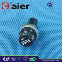 Daier glass fuse ratings