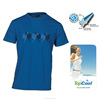 High Performance Permanent Quick dry Running Men's Blue Casual T shirt