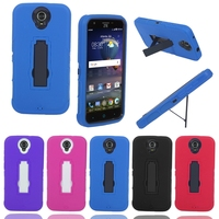 Armor Shockproof PC+Silicone Combo Outdoor Hard Cover Mobile Phone Case For ZTE N817