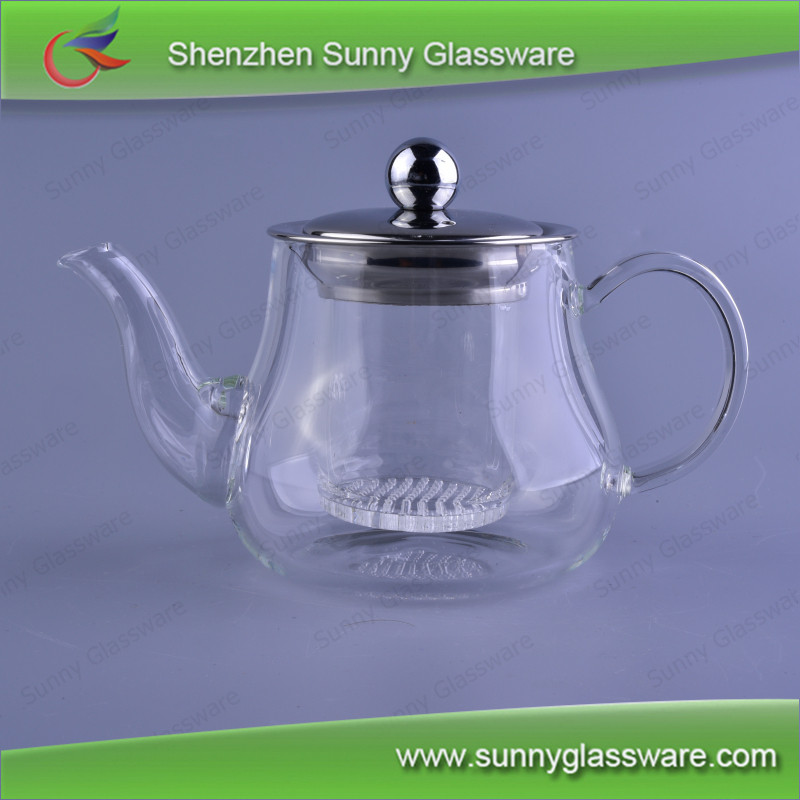Chinese comercial coffee kettle pyrex glass turkish tea pot