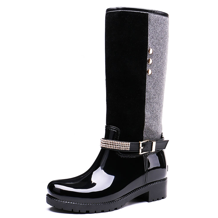 2018 New Mould styles Fashion Girls PVC rain <strong>boots</strong> thigh <strong>boots</strong>
