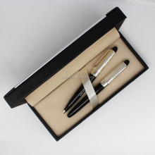 Luxury high quality metal pen business gift set promotional custom logo metal fountain pen