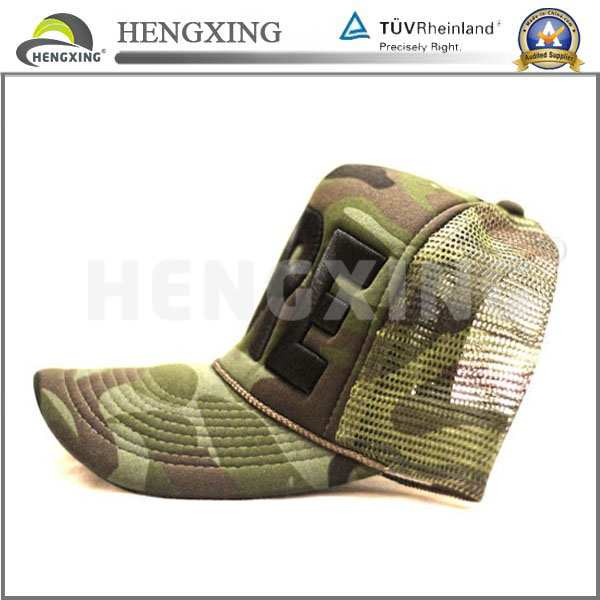 2014 custom 6 panel mesh trucker hats flat top military hat and cap