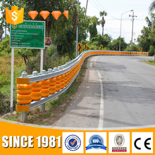 Golden Crown professional roller safety barrier guardrail Highway Fence