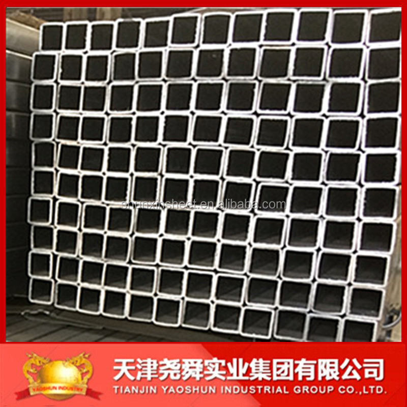GI Rectangular/ Square Steel Pipe/ Tube Construction and Building materials