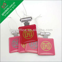 Promotional gifts Factory manufacture 100% non-toxic novelty car air fresheners